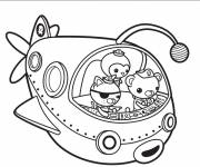 Coloring pages Octonauts drawing on computer