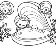 Coloring pages Octonauts for children