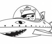 Coloring pages Octonauts kwazii for boys