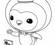 Coloring pages The Shellington Octonauts carry a star