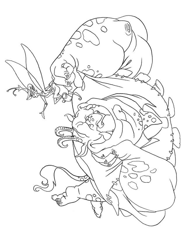 Free coloring and drawings Drawing The Trolls Coloring page