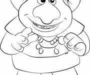 Free coloring and drawings Troll drawing Coloring page