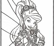 Coloring pages The Pirate Fairy
