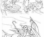 Coloring pages Tinker Bell and The Other Fairies