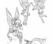 Coloring pages Tinkerbell coloring
