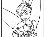 Coloring pages Tinkerbell in the pirate fairy