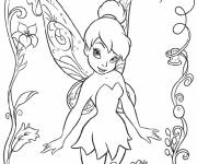 Coloring pages Tinkerbell to download