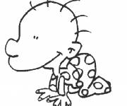 Coloring pages Baby titeuf