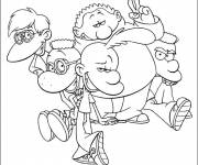 Coloring pages Titeuf cartoon in French
