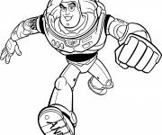 Coloring pages Buzz Lightyear online