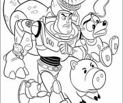 Coloring pages Toy story characters online