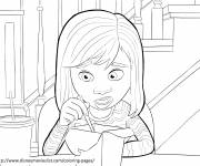 Coloring pages Hungry Riley Inside Out