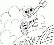 Coloring pages Cartoon wall-e