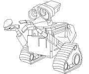 Coloring pages Disney drawing wall-e