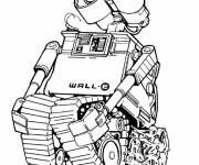 Coloring pages Wall-E drawing