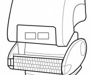 Coloring pages Wall-E on line