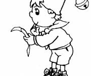 Coloring pages Noddy A4