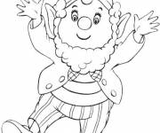 Coloring pages Noddy and his friends