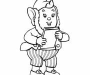 Coloring pages Noddy free
