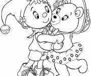 Coloring pages Noddy online free