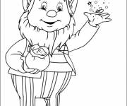 Coloring pages Noddy's friend