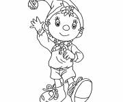 Coloring pages Noddy to print