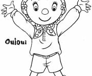 Coloring pages Noddy to print free