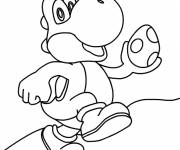 Coloring pages Yoshi egg