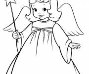 Coloring pages Angel online