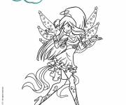 Coloring pages Friendly Angels