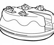 Coloring pages Color cake
