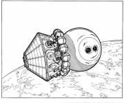 Coloring pages Material Cosmonaut