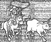 Coloring pages Cowboy Country