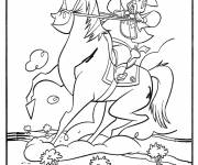 Coloring pages Cowboy Sheriff