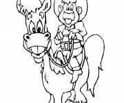 Coloring pages Cowboy to print