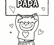 Coloring pages Image for dad