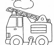 Coloring pages Fireman Truck