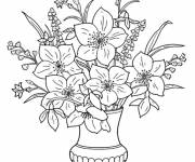 Coloring pages Florist to print