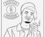 Free coloring and drawings Gangster Bruiser Brigade Coloring page