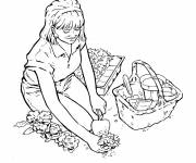 Coloring pages Color gardener
