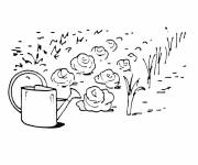 Coloring pages Garden and Vegetables
