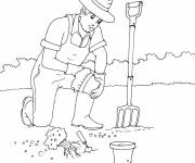 Coloring pages Nursery gardening