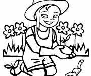 Coloring pages Small planter