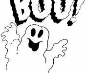 Coloring pages Easy Halloween Drawing