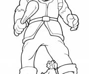 Coloring pages Giant and little man