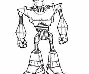 Coloring pages Giant Robot