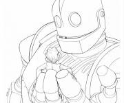 Coloring pages Giant Robot for children