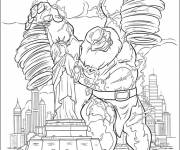Coloring pages Storm giant
