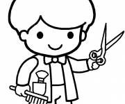 Coloring pages Little Hairdresser