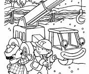 Coloring pages Bob the builder to download